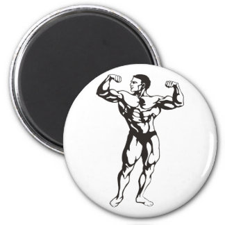 Fitness Man Muscles Magnet