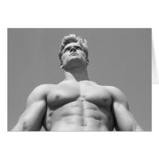 Fitness Model Notecard #21 Cards