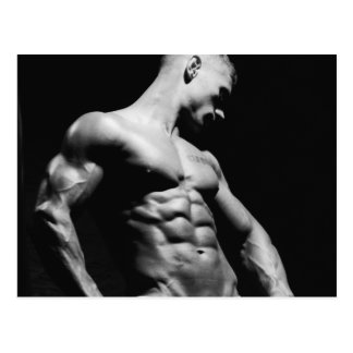 Fitness Model Postcard #11