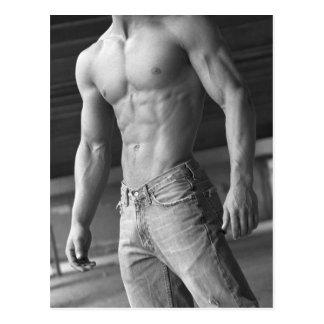 Fitness Model Postcard #13