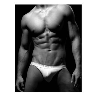 Fitness Model Postcard #20