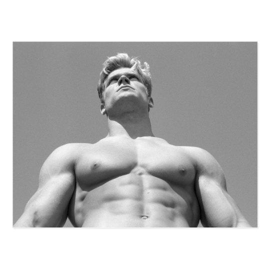Fitness Model Postcard #21