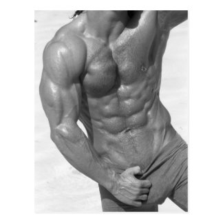 Fitness Model Postcard #6