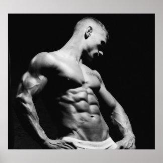 Fitness Model Poster #11