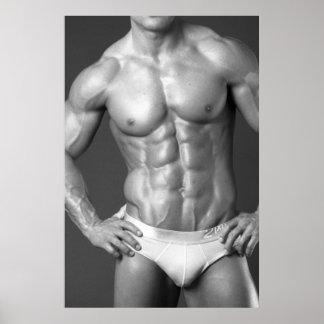 Fitness Model Poster #5