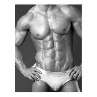 Fitness Model Poster #5 Postcard