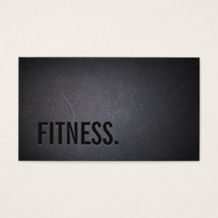 Fitness business cards 1500 fitness business card templates fitness modern bold text elegant dark professional business card accmission Image collections