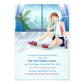 Fitness Pause Invitation