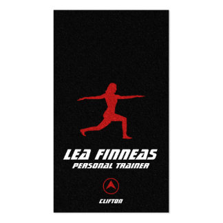 Fitness & Personal Trainer Business Card Pack Of Standard Business Cards