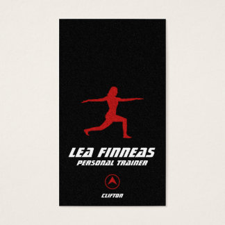Fitness & Personal Trainer Business Card