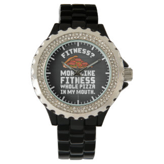 Fitness Pizza Watch