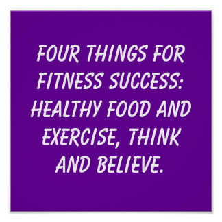 Fitness Quotes Poster