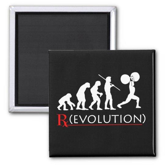 Fitness (rx) Evolution Chart Magnet