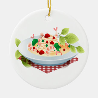 Fitness - Seafood! by SRF Christmas Ornaments