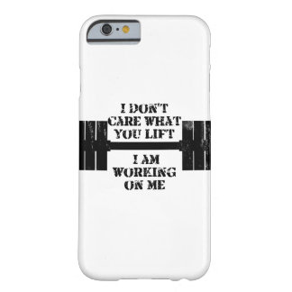 Fitness Self Motivation Barely There iPhone 6 Case
