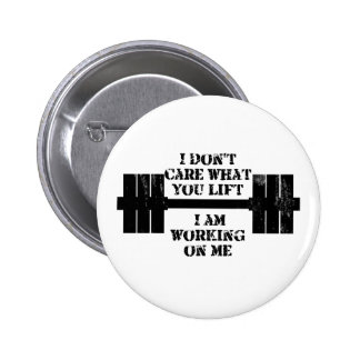 Fitness Self Motivation Button