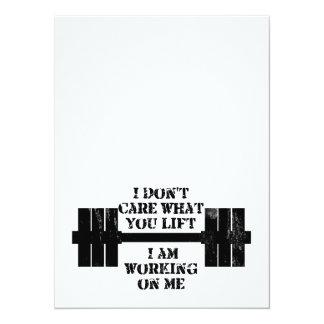 Fitness Self Motivation Card