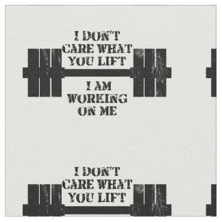 Fitness Self Motivation Fabric
