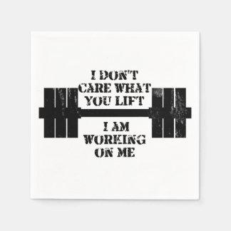 Fitness Self Motivation Napkin