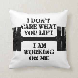 Fitness Self Motivation Pillow
