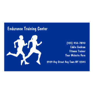 Fitness Sports Business Cards