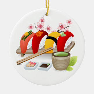 Fitness - Sushi! by SRF Ornaments