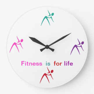 Fitness Theme Wall Decor Clock
