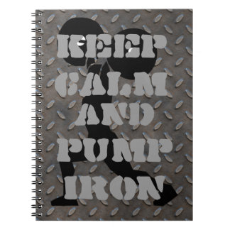 FITNESS TRACKING JOURNAL SPIRAL NOTEBOOK