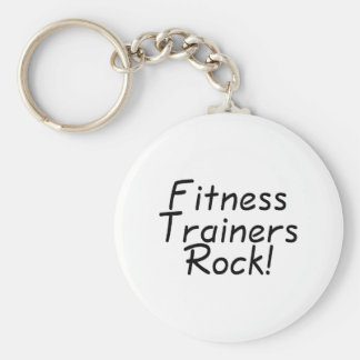 Fitness Trainers Rock Key Chain