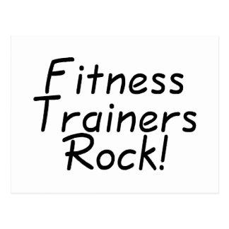 Fitness Trainers Rock Postcard