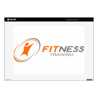 "Fitness Training 15"" Laptop Decal"