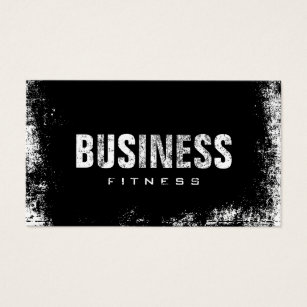 Fitness business cards 1500 fitness business card templates fitness training professional dark grunge business card colourmoves Images