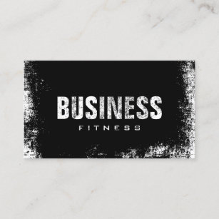 Fitness business cards 1500 fitness business card templates fitness training professional dark grunge business card colourmoves
