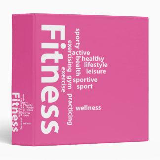 Fitness words binder