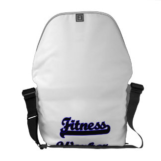 Fitness Worker Classic Job Design Courier Bag