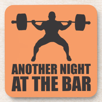 Fitness Workout Gym Motivation Drink Coaster