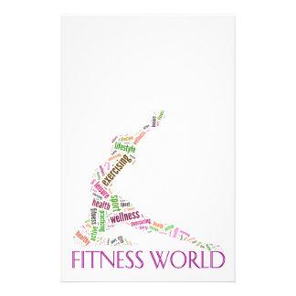 Fitness world flyer