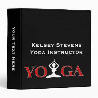 Fitness Yoga Pose Binder 1.5""
