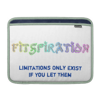 Fitspiration mac Book Cover MacBook Air Sleeve
