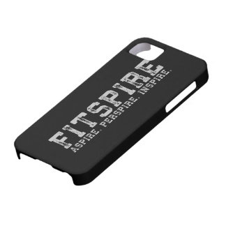 Fitspire - Aspire, Perspire,  Inspire - Workout iPhone SE/5/5s Case