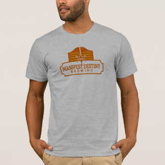 Fitted American Apparel Logo Shirt
