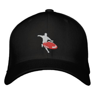 fitted hat embroidered hat