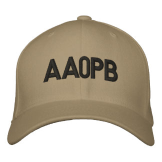 Fitted Hat with Call Sign Baseball Cap