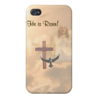 ® Fitted™ He Is Risen HardShell  iPhone 4 Case