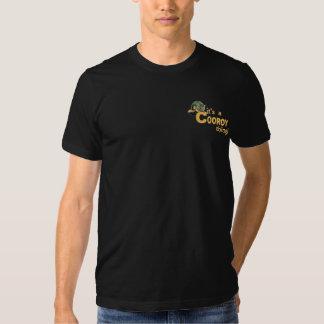 Fitted Shirt - pocket size logo - dark
