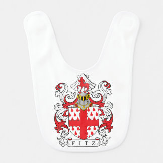 Fitz Coat of Arms II Bibs