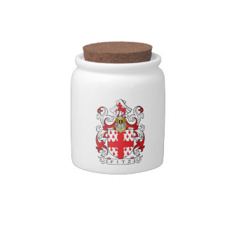 Fitz Coat of Arms II Candy Jar