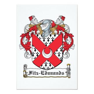 Fitz-Edmunds Family Crest Custom Invites