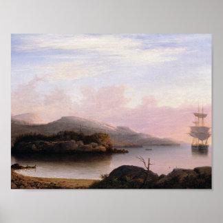 Fitz Henry Lane - Off Mount Desert Island Poster