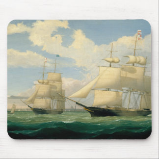"""Fitz Henry Lane - The Ships """"Winged Arrow"""" Mouse Pad"""